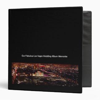 Our Fabulous Las Vegas Wedding Album Memories 3 Ring Binder