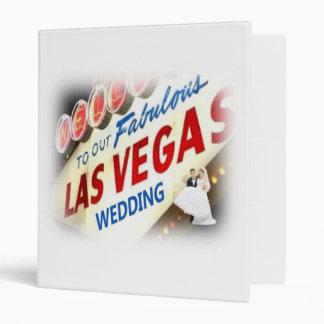 Our Fabulous Las Vegas Wedding Keepsake Album Vinyl Binders