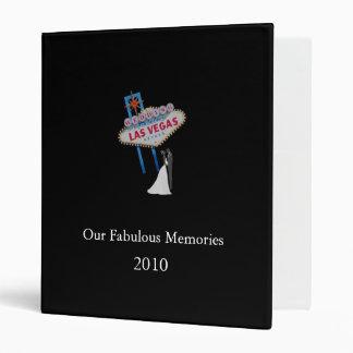 Our Fabulous Memories, 2010 Vegas Wedding Binder