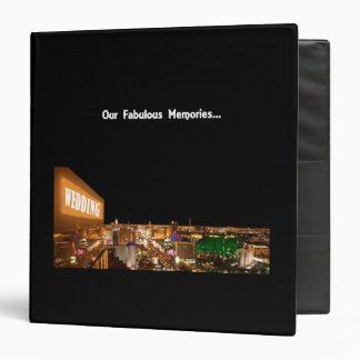 Our Fabulous Memories WEDDING in Las Vegas Album 3 Ring Binder