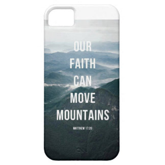 Our Faith Can Move Mountains. iPhone SE/5/5s Case