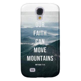 Our Faith Can Move Mountains Samsung Galaxy S4 Case