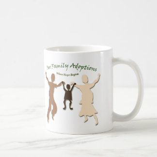 Our Family Adoptions Logo Coffee Mug