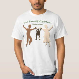 Our Family Adoptions T-Shirt