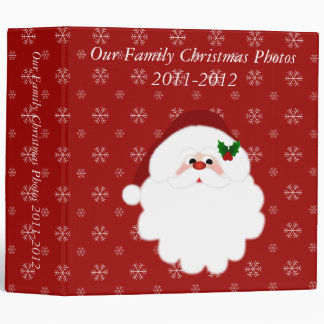 Our Family Christmas 2 inch (Add Your Own Text) Binder