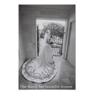 Our family has beautiful women poster