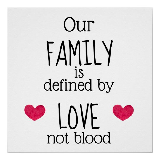 family not blood