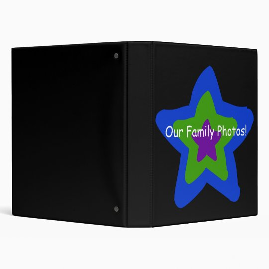 Our Family Photos! 3 Ring Binder