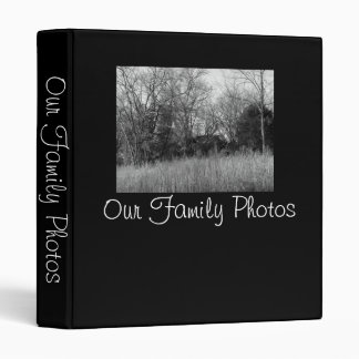 Our Family Photos 3 Ring Binder