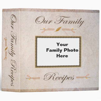 Our Family Recipes Binder