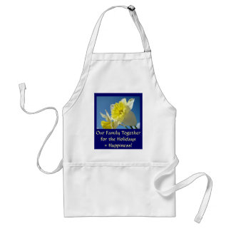 Our Family Together Holidays gift Apron Happiness