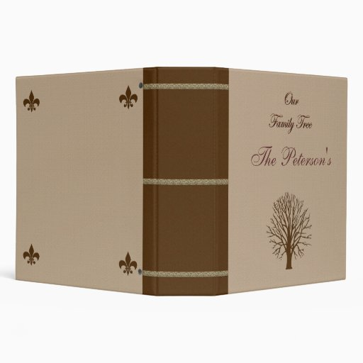 "Our Family Tree 2"" Binder"