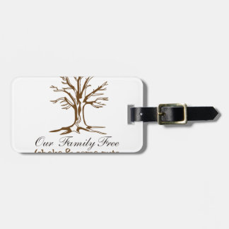 Our Family Tree Bag Tag