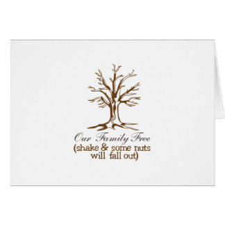 Our Family Tree Card