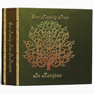 Our Family Tree in Recipes Vinyl Binder
