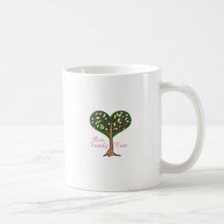 OUR FAMILY TREE CLASSIC WHITE COFFEE MUG
