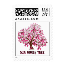 Our Family Tree Postage Stamp