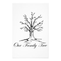 Our Family Tree Stationery
