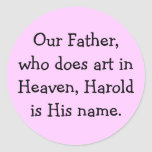 Our Father - art stickers