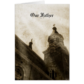 Our Father Card