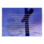 Our Father Greeting Card