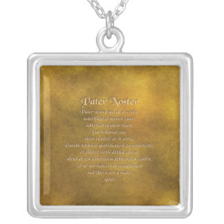 Our Father In Latin Necklace