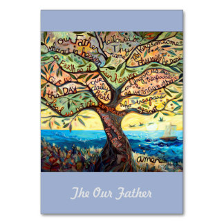 "Our Father (Lord's Prayer) 3.5x5"" Prayer Card"