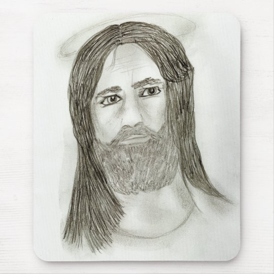 Our Father Mouse Pad