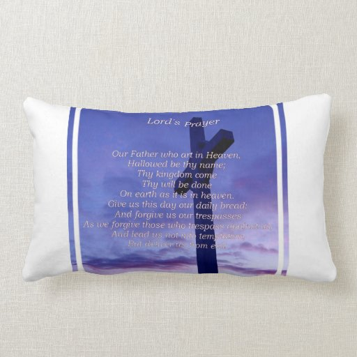 Our Father Pillow