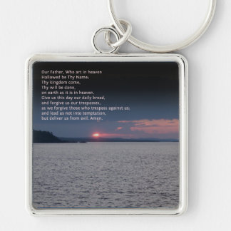 Our Father Prayer Keychain
