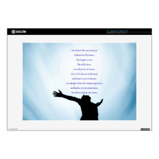 Our father prayer the classical healing love laptop decals