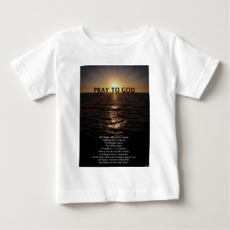 Our Father Prayer Tee Shirt