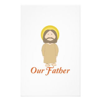 Our Father Stationery Paper