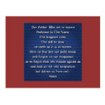 Our Father The Lord's Prayer Post Cards
