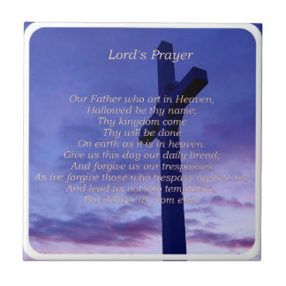Our Father Tile