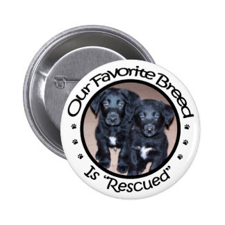Our Favorite Breed Is Rescued Button