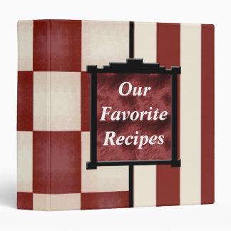 Our Favorite Recipes Cookbook Binder