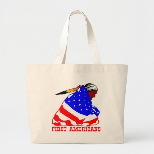 Our First Americans Canvas Bag