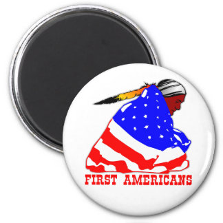 Our First Americans Magnet