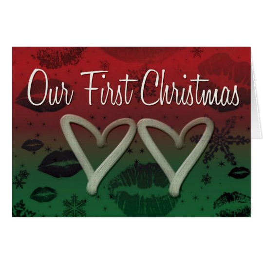 Our First Chrismas Card