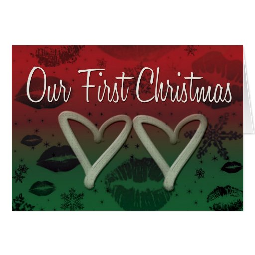 Our First Chrismas Greeting Card