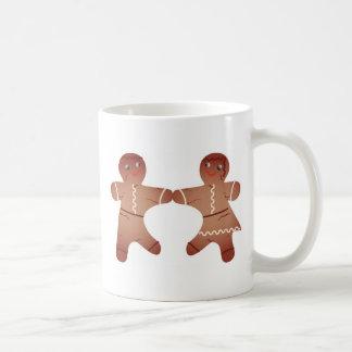 Our First Christmas 2008 Gingerbread Couple Mug