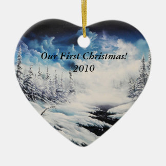 Our First Christmas! 2010 Ceramic Ornament