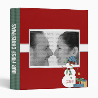 Our First Christmas Binder