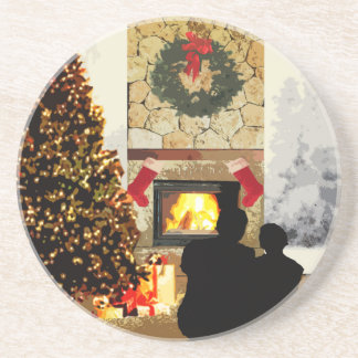 Our First Christmas By The Fire Coasters