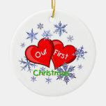Our First Christmas Christmas Ornament
