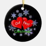 Our First Christmas Christmas Ornaments