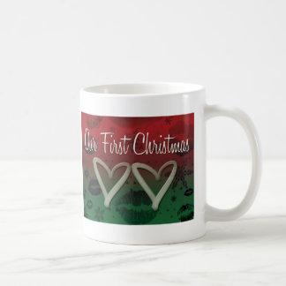 Our First Christmas Coffee Mug