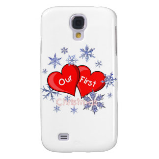 Our First Christmas Galaxy S4 Covers
