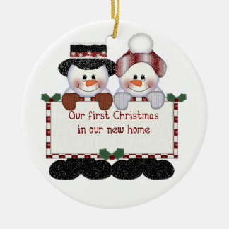 Our First Home Ornaments & Keepsake Ornaments | Zazzle